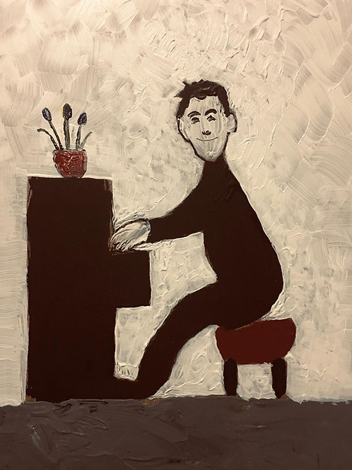 The Piano Player by David J Ansell