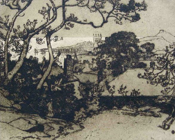 St Ives Bay - Sir Alfred East (1844 - 1913)