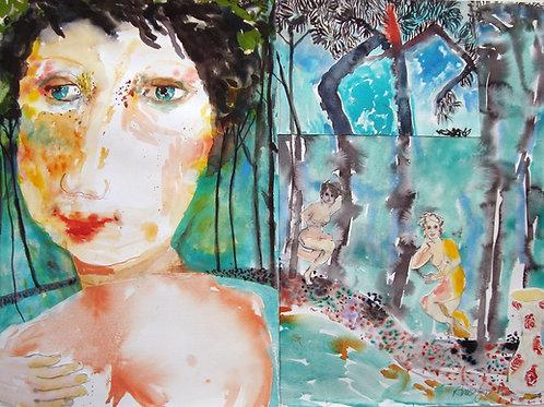 Secrets Hiding in the woods by Anne Lynch