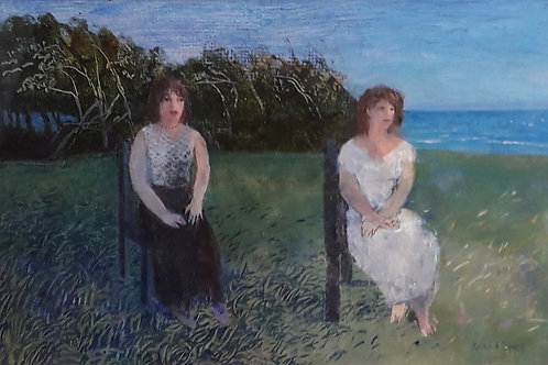 A Field by the Sea by Richard Sorrell