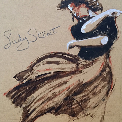 Study of dancer - The girl can move by David Barrow