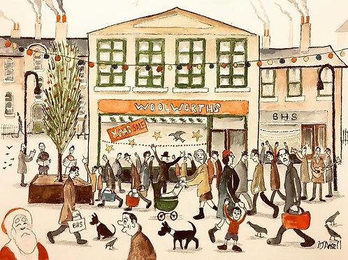 Christmas Shopping by David J Ansell