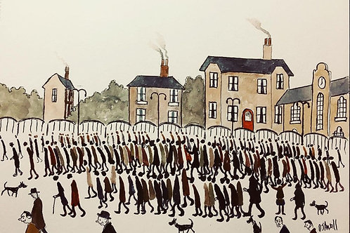 Crowds by David J Ansell
