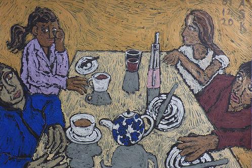 Cafe scene by ASK Fulgur