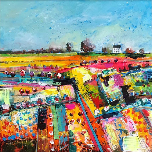 Over the Fields by Martin John Fowler