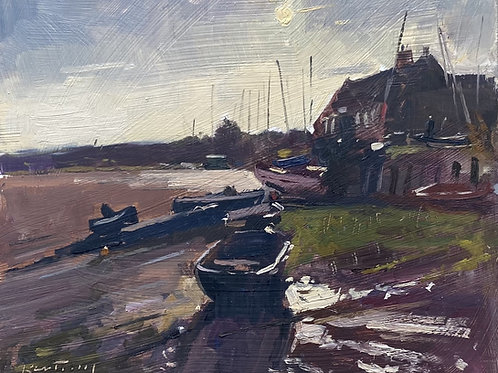 Low Tide, Morning Sun by Karl Terry