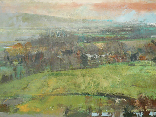 The Ouse Valley, Sussex by Paul Newland
