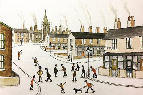 Street Scene 3 by David J Ansell