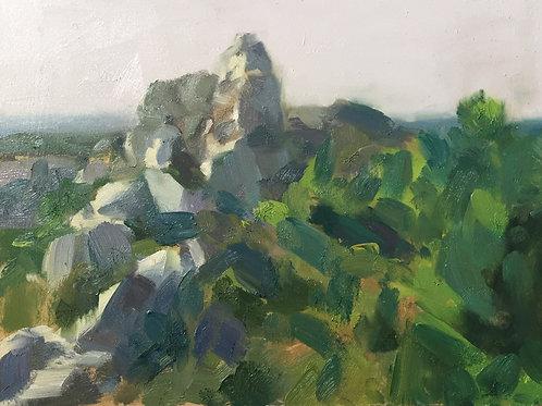 Rocky outcrop by Tim Benson