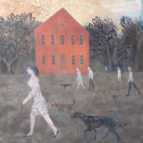 The Red House by Richard Sorrell