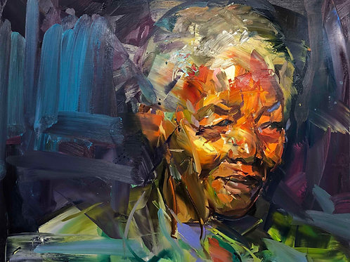 The dying of the light (Mandela) by Paul Wright