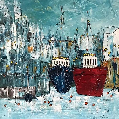 Lower Wharf by Martin John Fowler