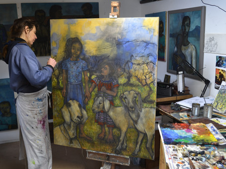 Sula Rubens' work added to the Oakham Contemporary Gallery