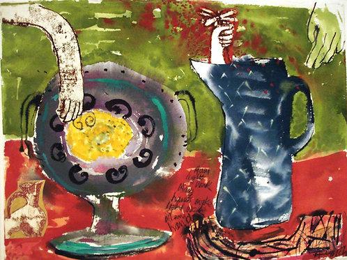 Many Hands make light work by Anne Lynch