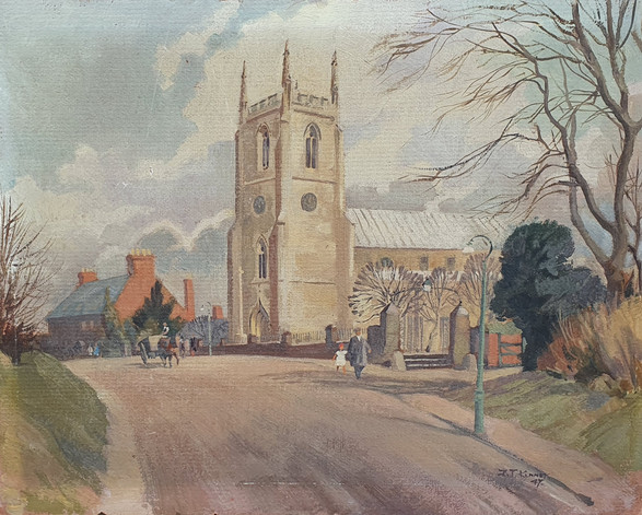 Kibworth, Leicestershire - John Kenney (1911 – 1972)