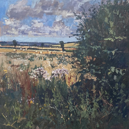 Through the Hedgerow by Karl Terry