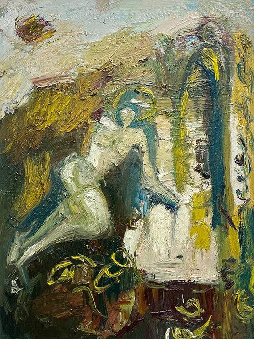 A Velvet morning in Eden by Francesca Owen