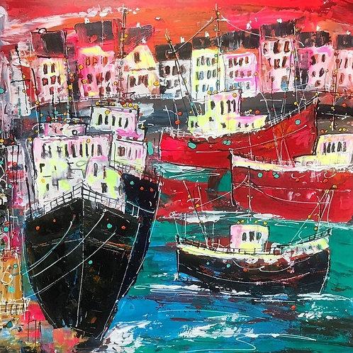 East Wharf by Martin John Fowler