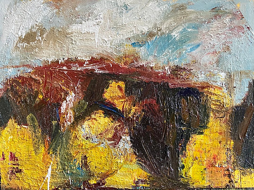 Autumn arrives on the Penwith moors by Paul Wadsworth
