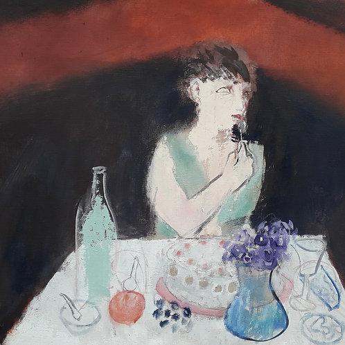 Corner table by Richard Sorrell