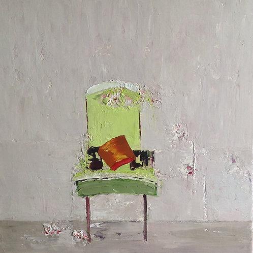 Green Chair by Lorraine Wake
