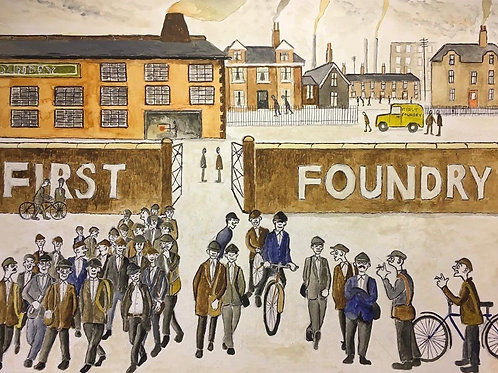 Going Home - First Foundry by David J Ansell