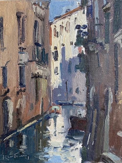 Morning, Fondamente Caravaggio by Karl Terry