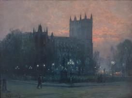 Westminster Abbey - Alfred de Breanski Jnr (1877 - 1955)