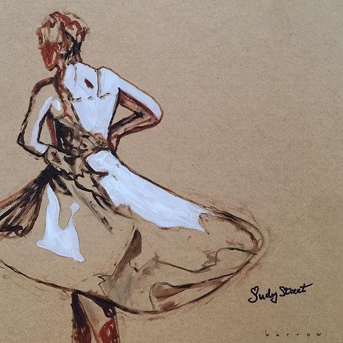 Study of dancer - Soul time by David Barrow