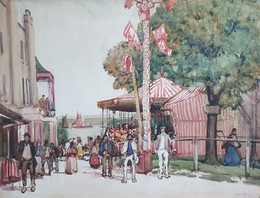 The Carnival - Sir Alfred East (1844 - 1913)