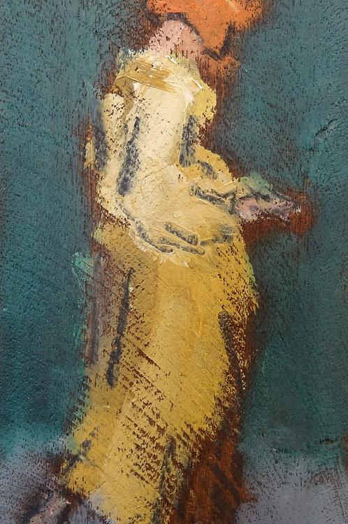 Rebecca in Yellow by Ghislaine Howard
