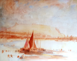 Scarborough - Sir Alfred East (1844 - 1913)