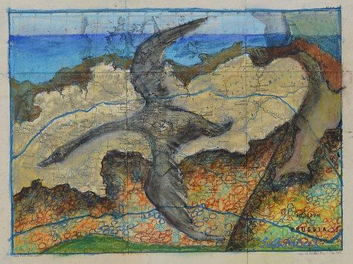 Shore Flight by Sula Rubens A.R.W.S.