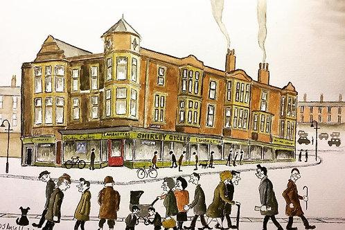 Shirley Cycles Fleetwood by David J Ansell