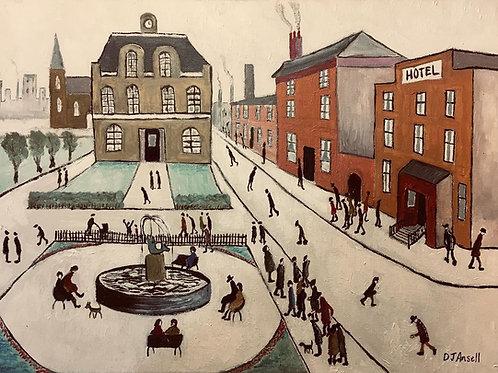 Street Scene 6 by David J Ansell