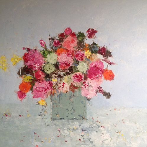 Mixed Roses by Lorraine Wake