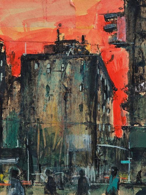 Dark City I by Akash Bhatt