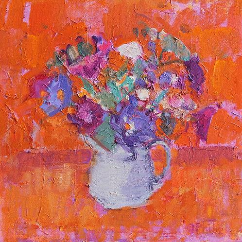 Burnt Orange by Jackie Philip