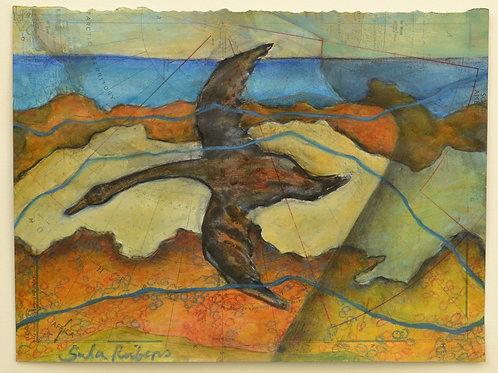 Shore Flight – Migration by Sula Rubens A.R.W.S.