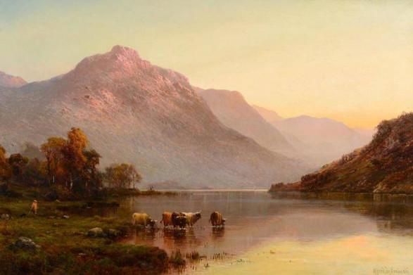 Loch Long - Alfred de Breanski Snr (1852 - 1928)