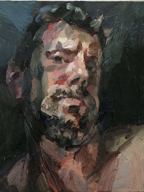 Frustrated Selfie by Tim Benson