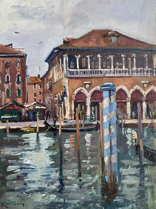 Fish Market Venice by Karl Terry