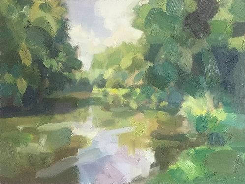 Stream, late Spring 2 by Tim Benson