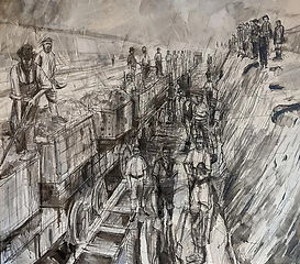 Canal Builders by Steven Royles
