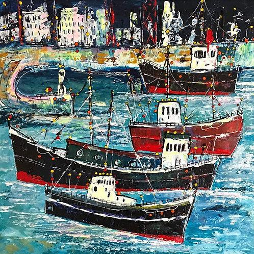 Wharfside by Martin John Fowler