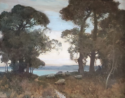 The Morning Moon by Sir Alfred East.jpg