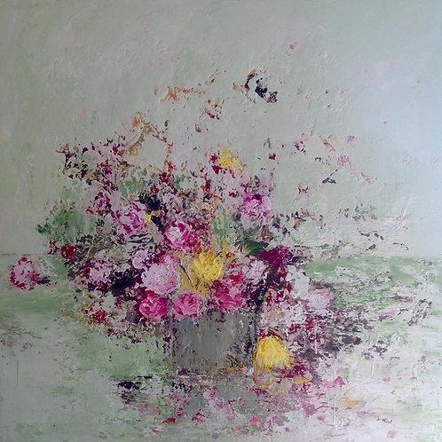 Green Arrangement by Lorraine Wake