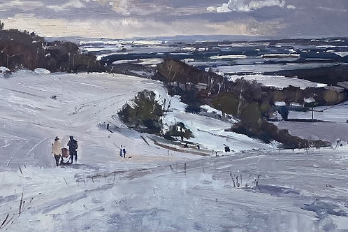 Winter Sledges by Karl Terry