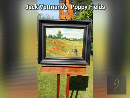 Jack Vettriano's Poppy Fields