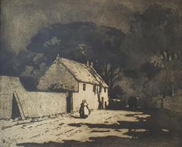 Moonlight - Sir Alfred East (1844 - 1913)